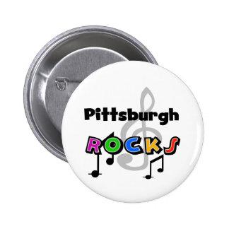 Rocas de Pittsburgh Pin