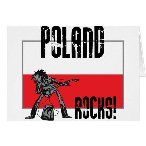 Rocas de Polonia Felicitación
