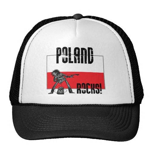 Rocas de Polonia Gorras