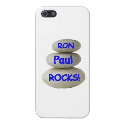 ¡Rocas de Ron Paul! iPhone 5 Funda