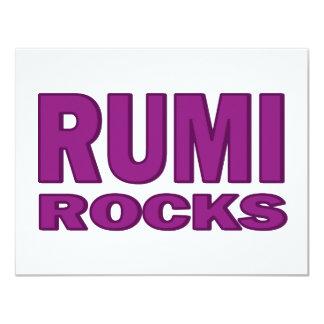 """Rocas de Rumi Invitación 4.25"""" X 5.5"""""""