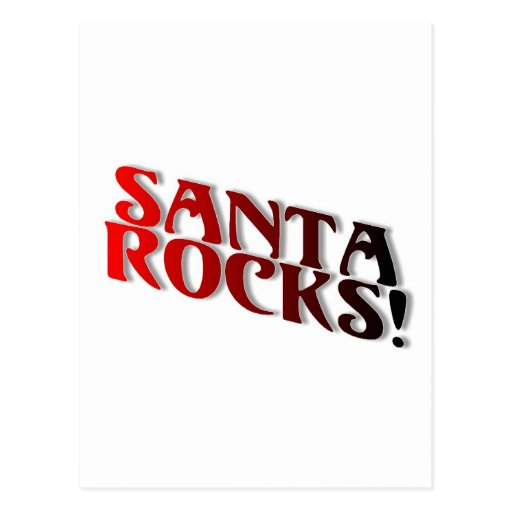 Rocas de Santa Tarjeta Postal