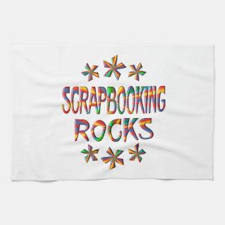 Rocas de Scrapbooking Toalla