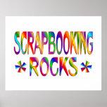 Rocas de Scrapbooking Posters