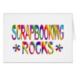Rocas de Scrapbooking Tarjetas