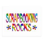 Rocas de Scrapbooking Tarjetas Postales