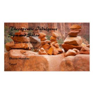 Rocas de Sedona en equilibrio Tarjetas De Visita