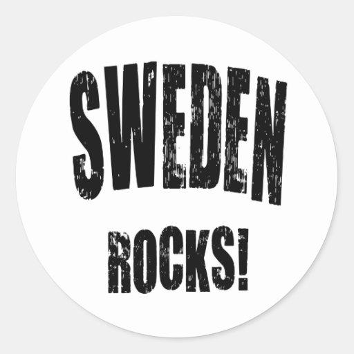 ¡Rocas de Suecia! Pegatinas