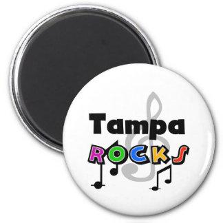 Rocas de Tampa Imán Redondo 5 Cm