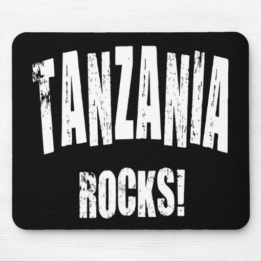 ¡Rocas de Tanzania! Alfombrilla De Raton
