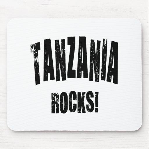 ¡Rocas de Tanzania! Alfombrillas De Ratones