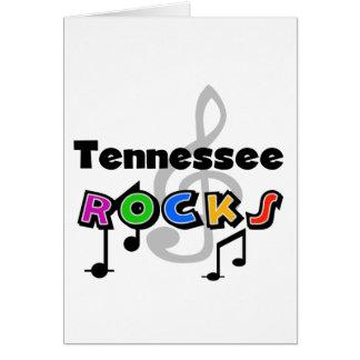 Rocas de Tennessee Tarjeta De Felicitación