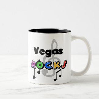 Rocas de Vegas Taza Dos Tonos