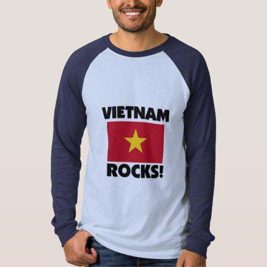 Rocas de Vietnam Playera