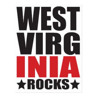 ¡Rocas de Virginia Occidental! Regalos y Appare Postal