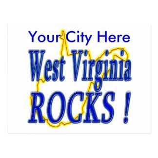 ¡Rocas de Virginia Occidental! Postal
