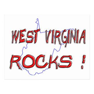 ROCAS de Virginia Occidental Postal