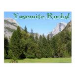 ¡Rocas de Yosemite! Postal
