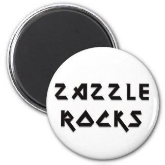 Rocas de Zazzle Imán Redondo 5 Cm