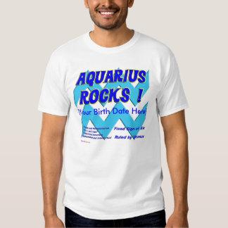¡Rocas del acuario! Playeras