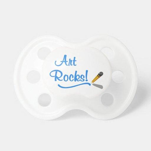 ¡Rocas del arte! Chupetes