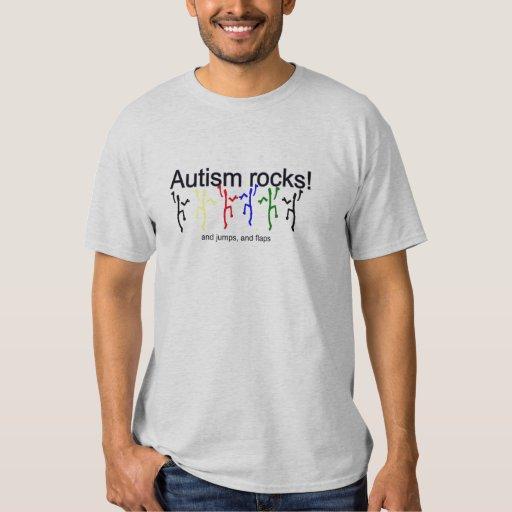 ¡Rocas del autismo! Poleras