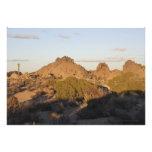 Rocas del barranco en la yuca impresiones fotograficas