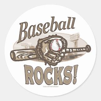 ¡Rocas del béisbol! Pegatina