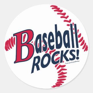 ¡Rocas del béisbol Pegatina