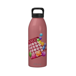 rocas del bingo botellas de agua reutilizables