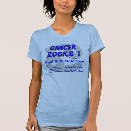 ¡Rocas del cáncer! Playera