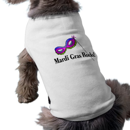 Rocas del carnaval camiseta de perro
