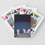 Rocas del desierto baraja cartas de poker