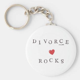 Rocas del divorcio - llavero