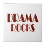 Rocas del drama azulejos