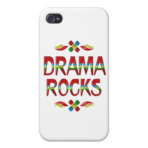 Rocas del drama iPhone 4/4S carcasas