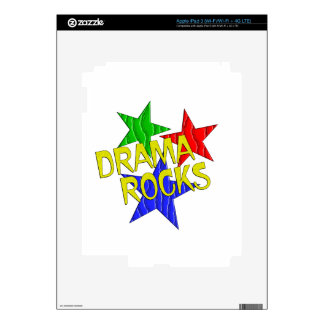 Rocas del drama pegatina skin para iPad 3