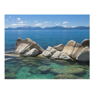 Rocas del este de la orilla, el lago Tahoe… Postales