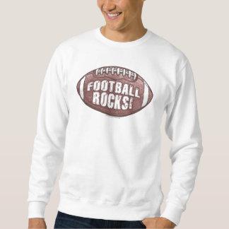 ¡Rocas del fútbol! Camiseta Suéter