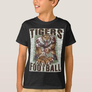Rocas del fútbol de los tigres por los estudios de playera