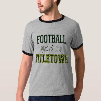 Rocas del fútbol en Titletown1 Playera