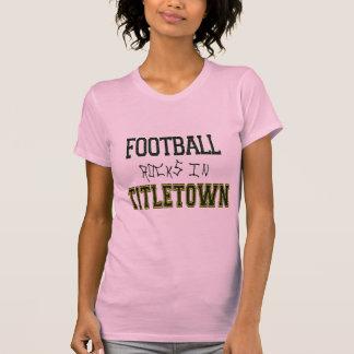 Rocas del fútbol en Titletown1 Remera