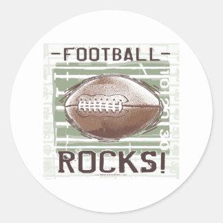 ¡Rocas del fútbol! Pegatina