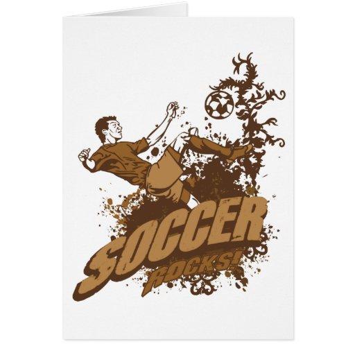 ¡Rocas del fútbol! Tarjeton