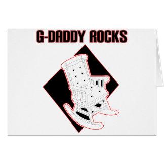 Rocas del G-Papá Tarjeta De Felicitación