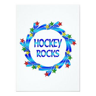 Rocas del hockey comunicado
