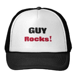 Rocas del individuo gorra