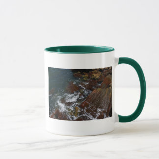 Rocas del mar taza