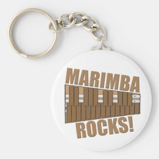 ¡Rocas del Marimba! Llavero Redondo Tipo Pin