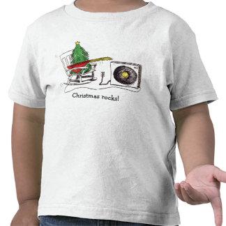 ¡Rocas del navidad! Niño T Camisetas